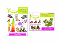 Kinderspace shoe shop adverts