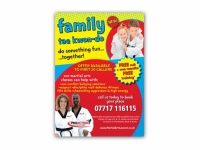 ProAction Family Tae Kwon-Do advert
