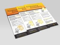 flyer design A5 accountants