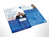 flyer design EIMS Bournemouth