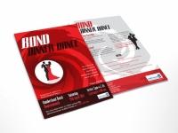 flyer design charity dinner dance
