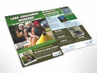 flyer design outdoor persuit challenge
