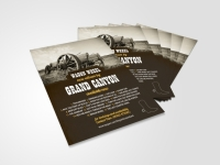 flyer design country and western band