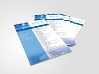 overview sheet data sheet design