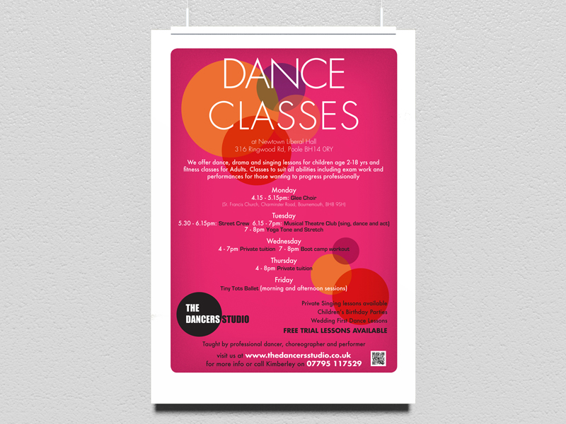 poster dance studio